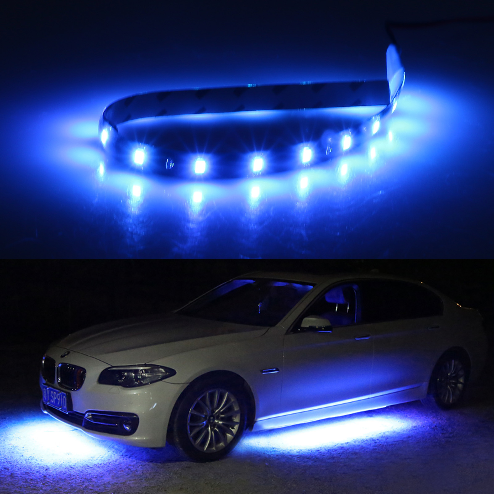 6-12-Pack-Waterproof-Flexible-DC12V-LED-Strip-Underbody-Light-for-Car-Motorcycle thumbnail 13
