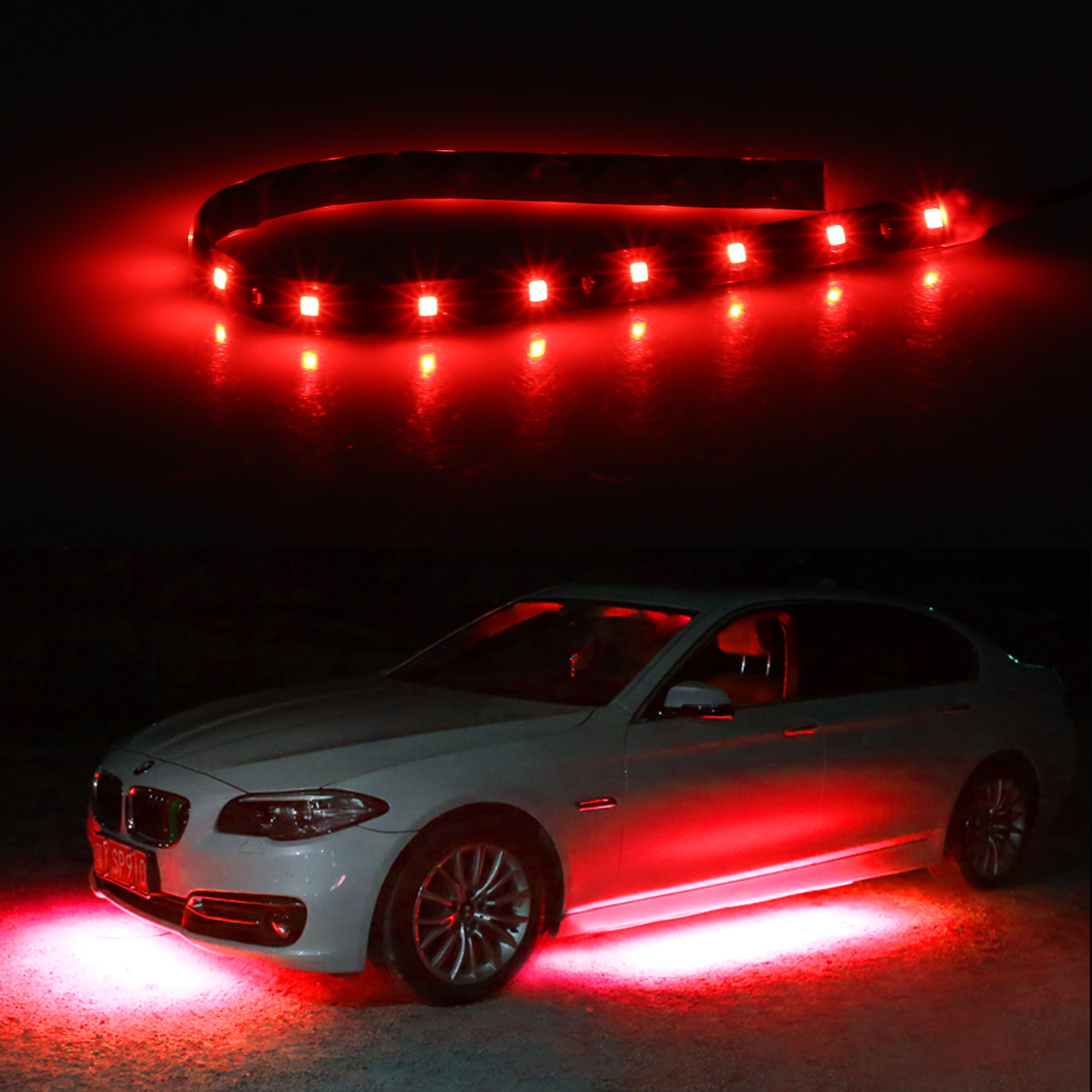 6-12-Pack-Waterproof-Flexible-DC12V-LED-Strip-Underbody-Light-for-Car-Motorcycle thumbnail 15