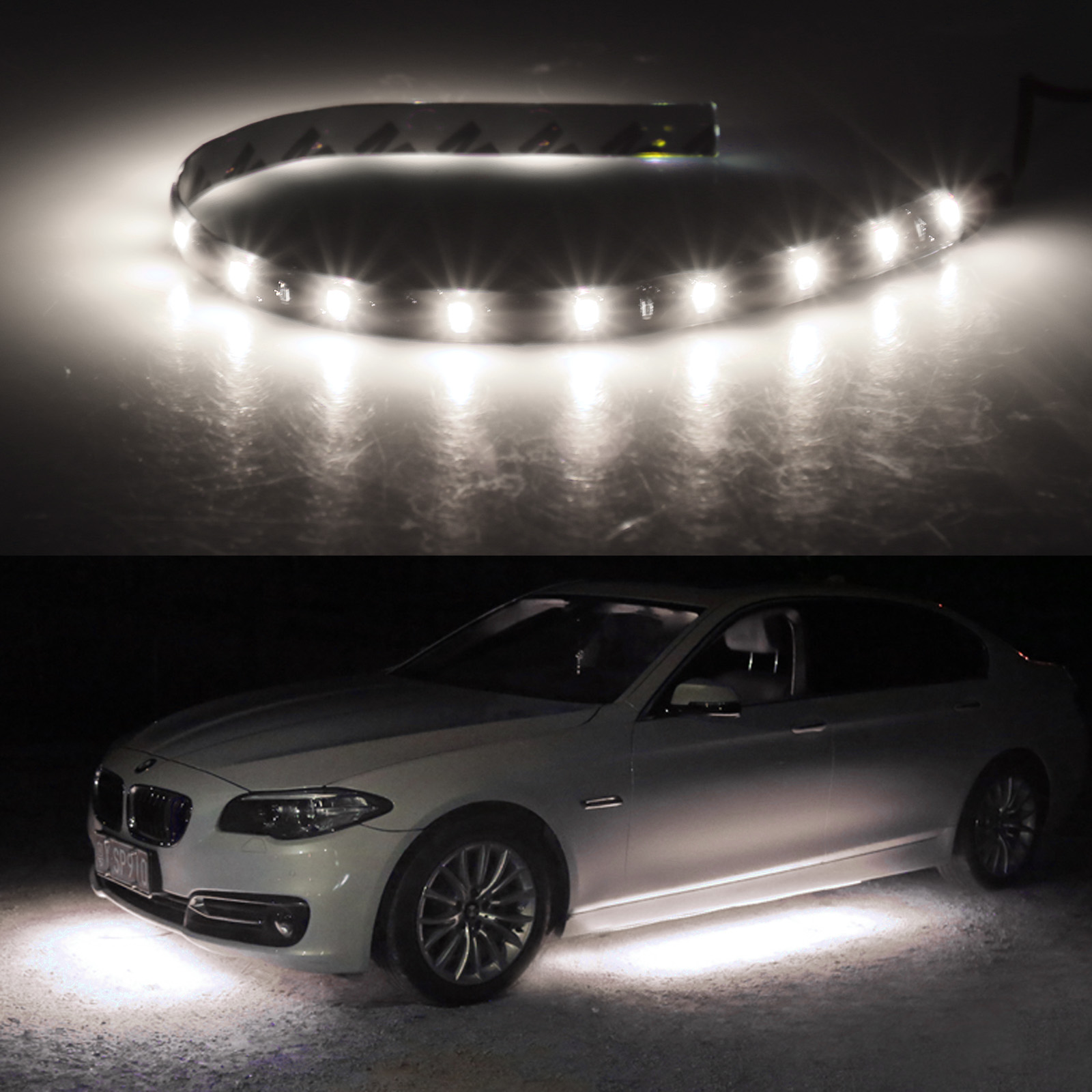 6-12-Pack-Waterproof-Flexible-DC12V-LED-Strip-Underbody-Light-for-Car-Motorcycle thumbnail 17