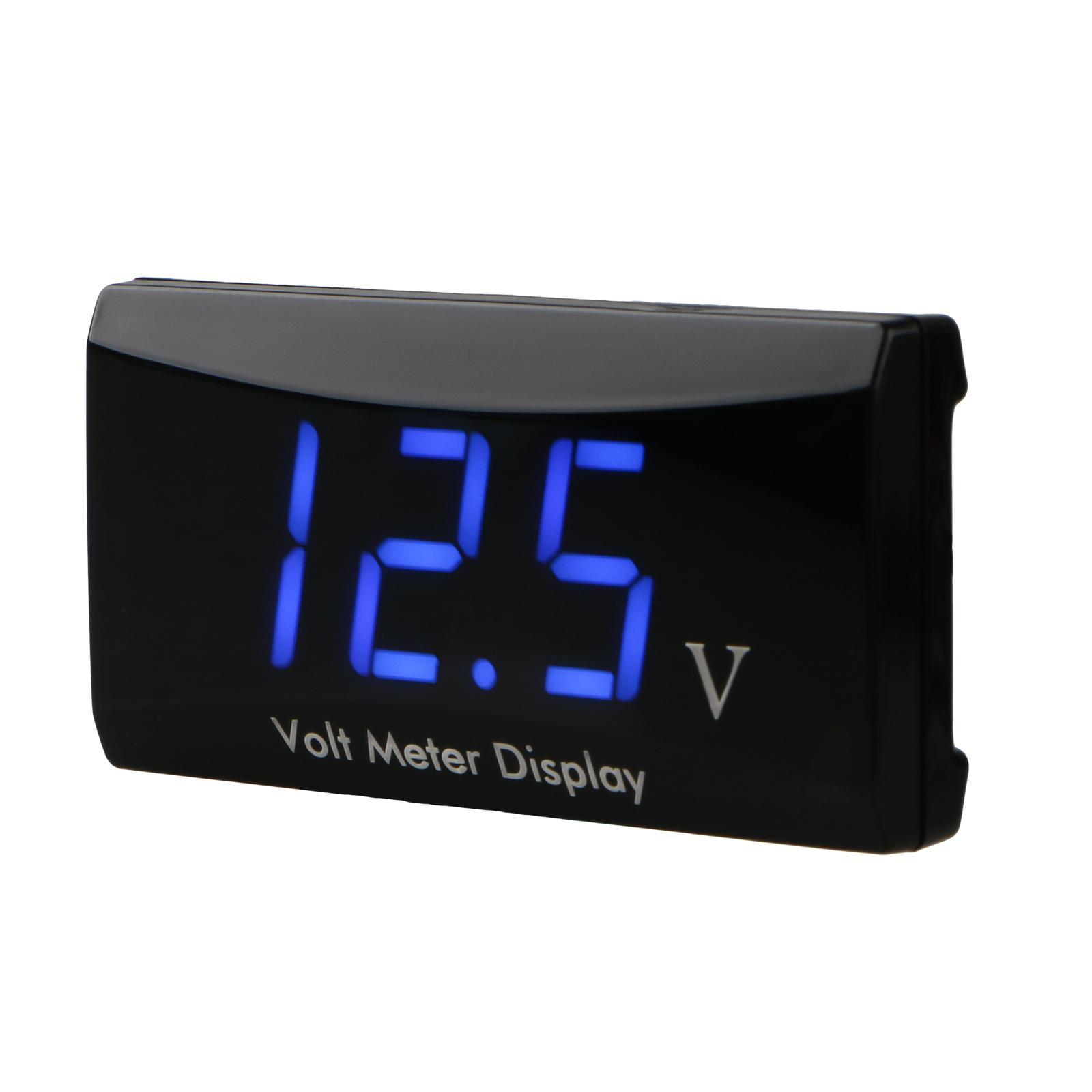 Digital Led Panel : Led digital display voltmeter car motorcycle voltage volt