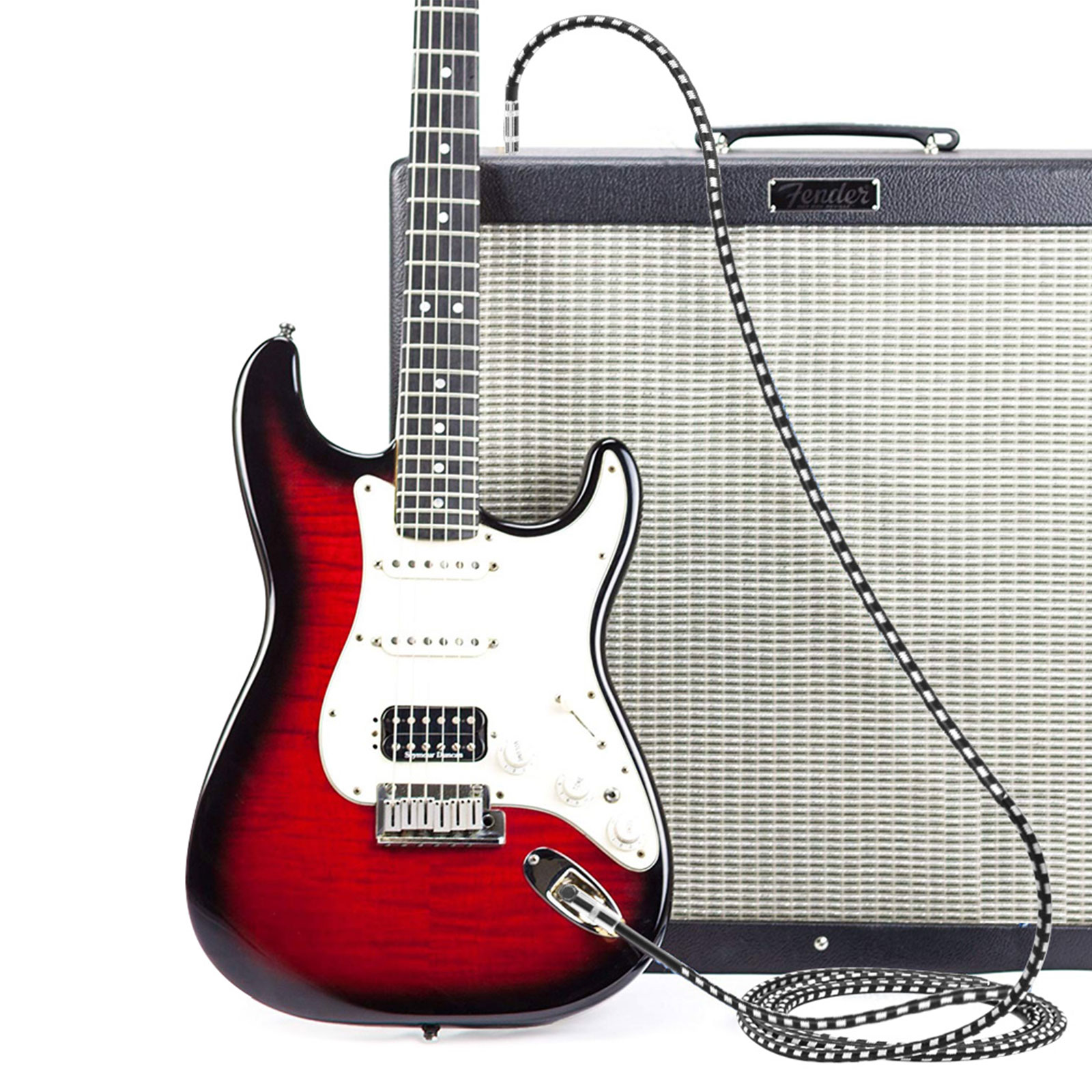 10FT-6-35mm-Jack-Premium-Electric-Guitar-Bass-Cable-Musical-Instrument-AMP-Cord thumbnail 7