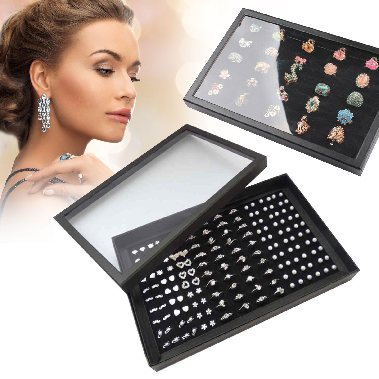 Fashion-Jewelry-Organizer-Box-Holder-Tray-Case-For-Ring-Earring-Storage-Display