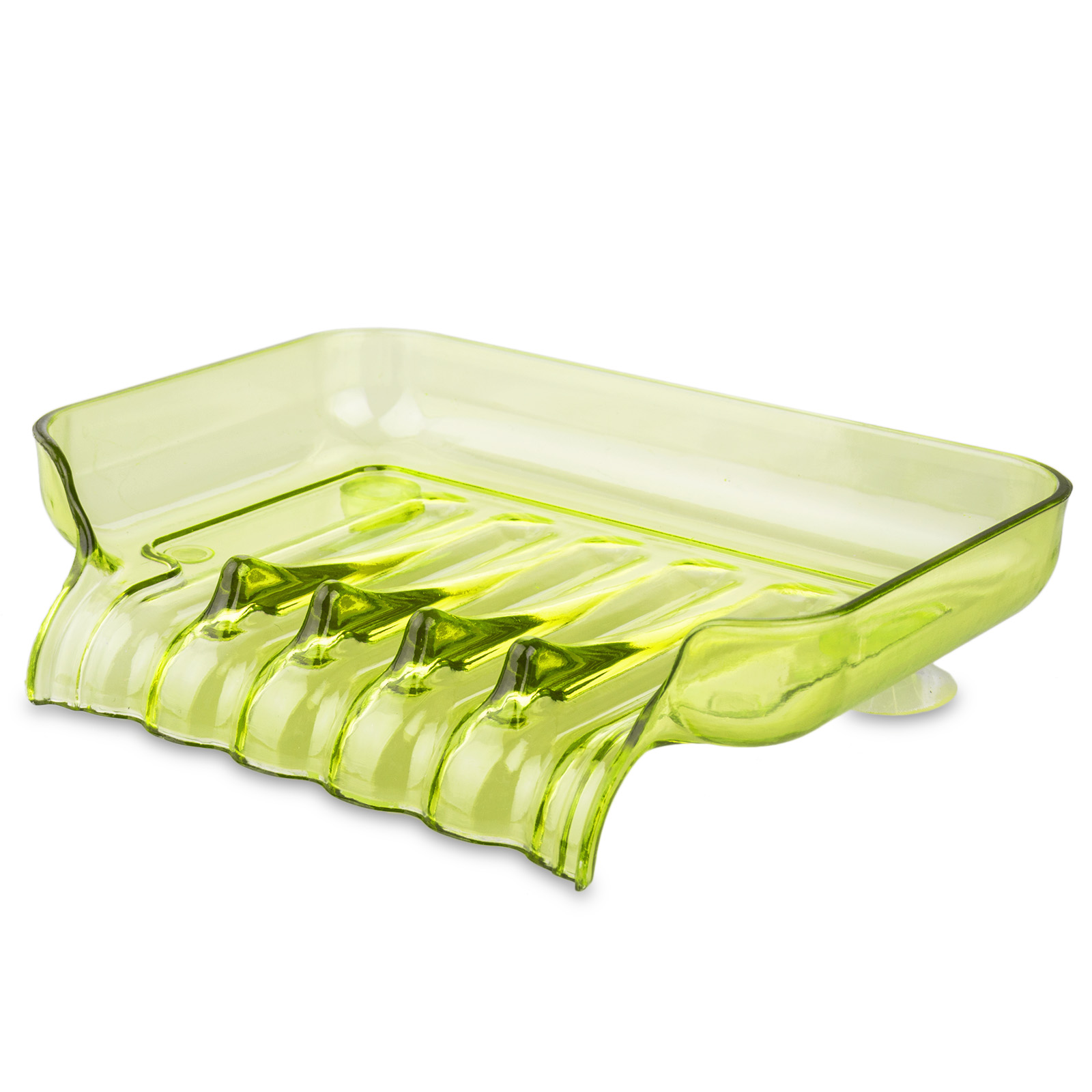 Bathroom-Shower-Soap-Box-Dish-Storage-Plate-Tray-Holder-Case-Container-Suction thumbnail 13