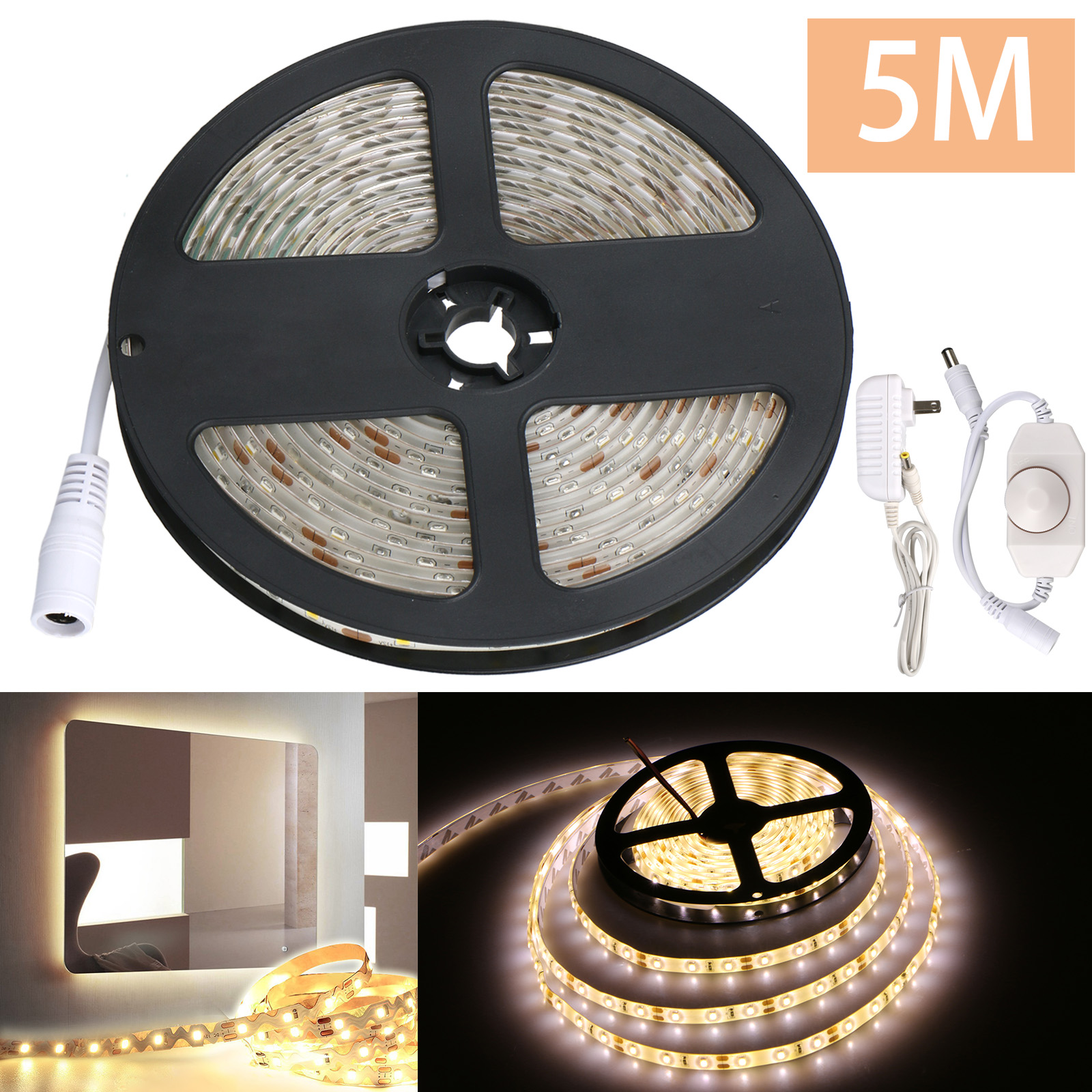 Waterproof Flexible Led Makeup Vanity Mirror Light Strip