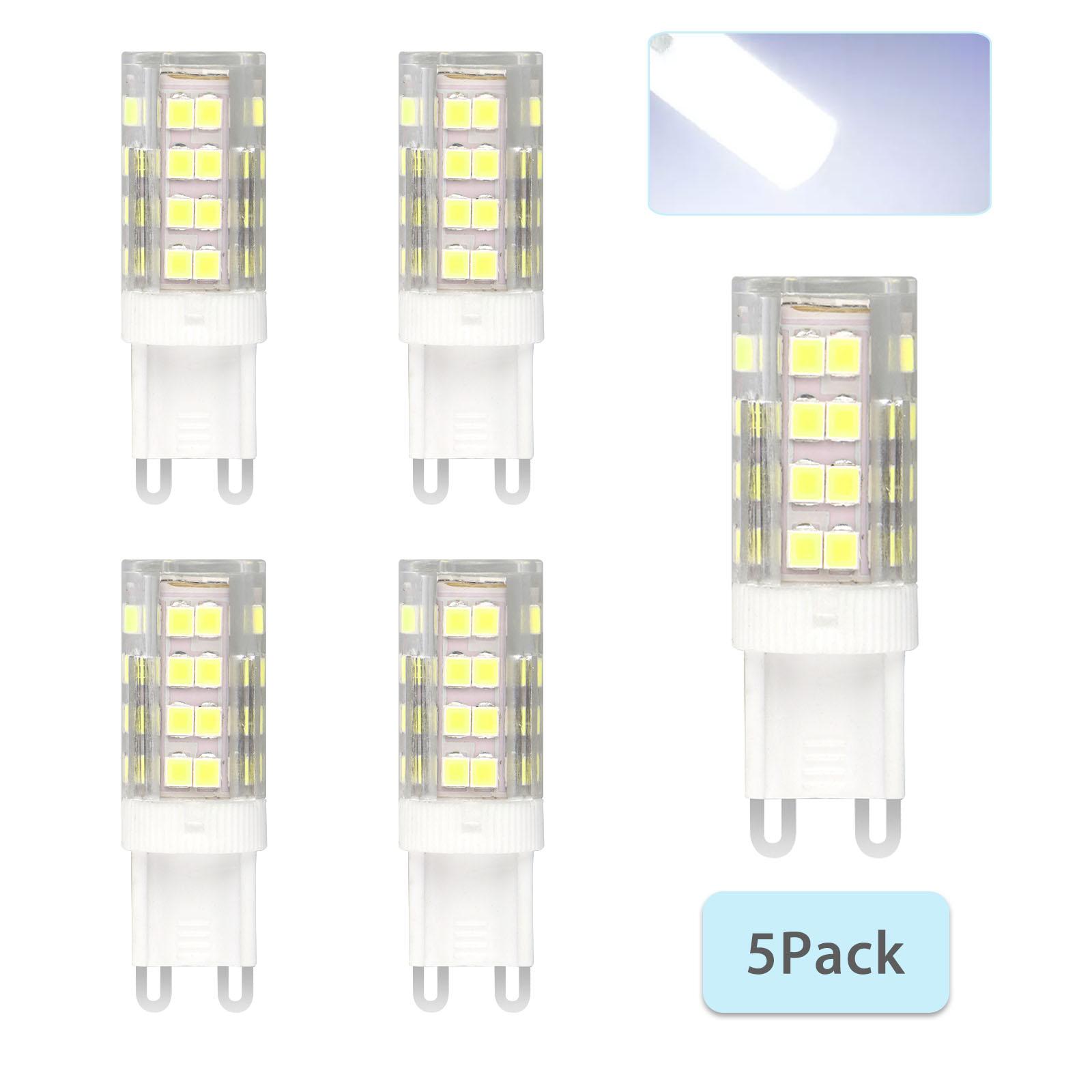 G9-40W-Dimmable-Halogen-LED-Corn-Bulb-Lamp-6000K-2835-40-SMD-Daylight-Home-Light