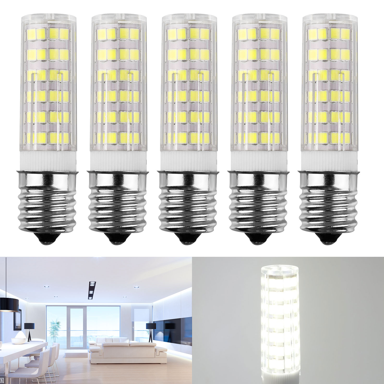 E17-LED-Dimmable-Intermediate-Base-Microwave-7W-Appliance-Light-Bulb-5-Pack thumbnail 9