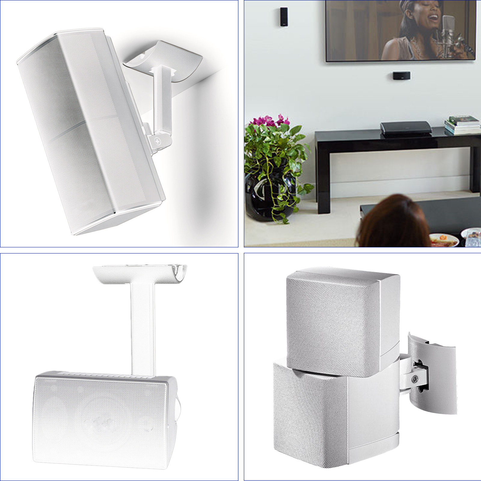 UB20-SERIES-2-II-Wall-Ceiling-Bracket-Mount-fits-for-Bose-all-Lifestyle-CineMate thumbnail 4