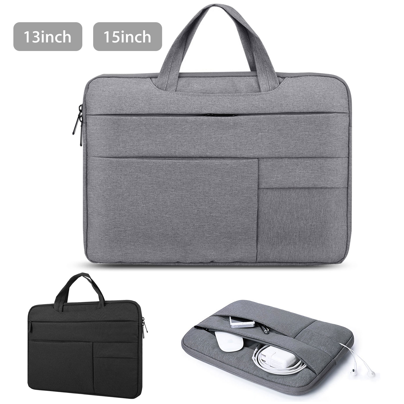 "13""15"" Waterproof Laptop Sleeve Case Carry Cover Bag for Mac"