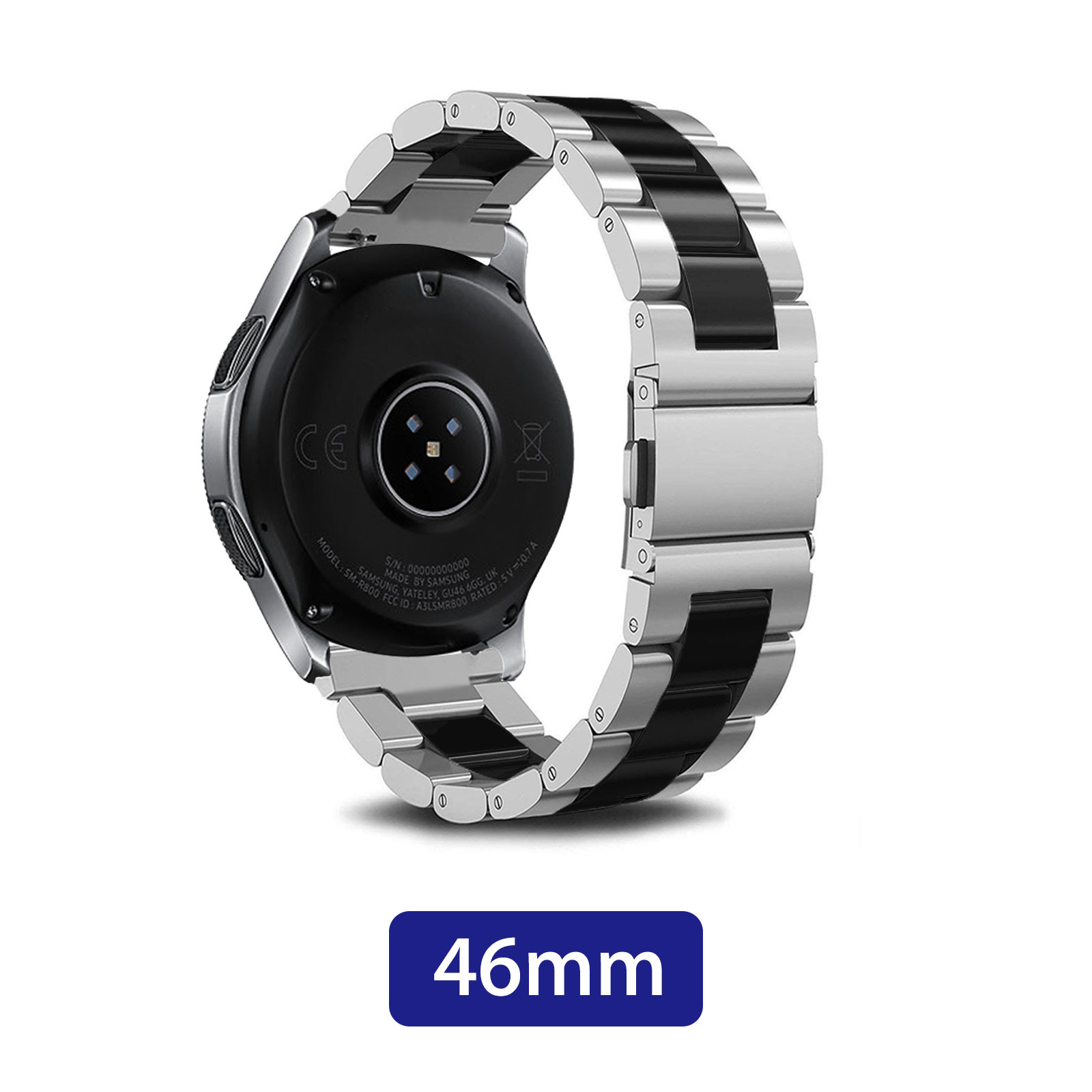 Replacement-Stainless-Steel-Watch-Band-Strap-For-Samsung-Galaxy-Watch-42mm-46mm thumbnail 12