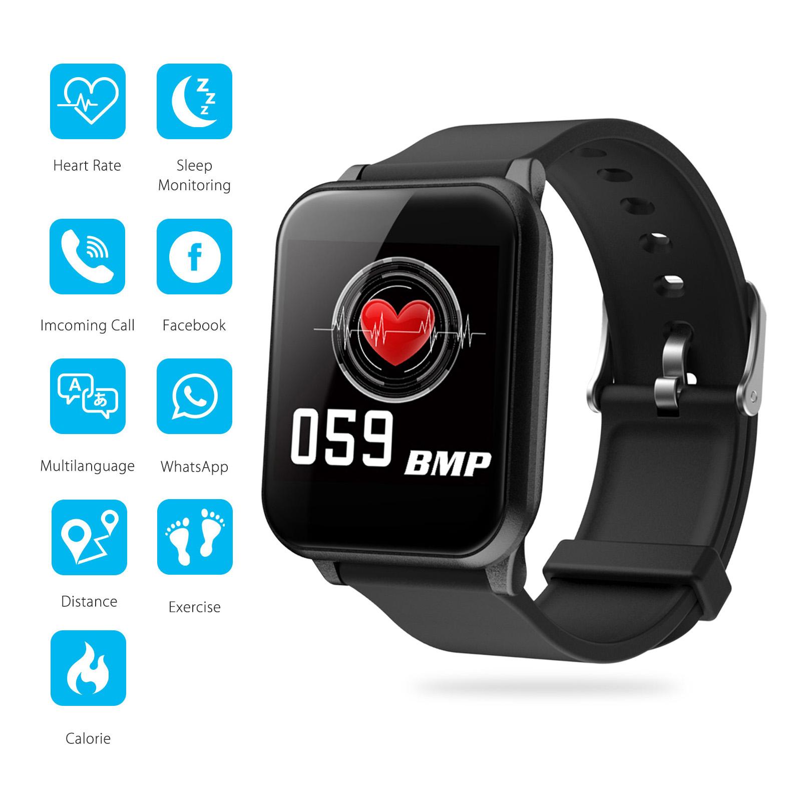 Smart Watch Heart Rate Monitor Fitness Tracker Activity Spor
