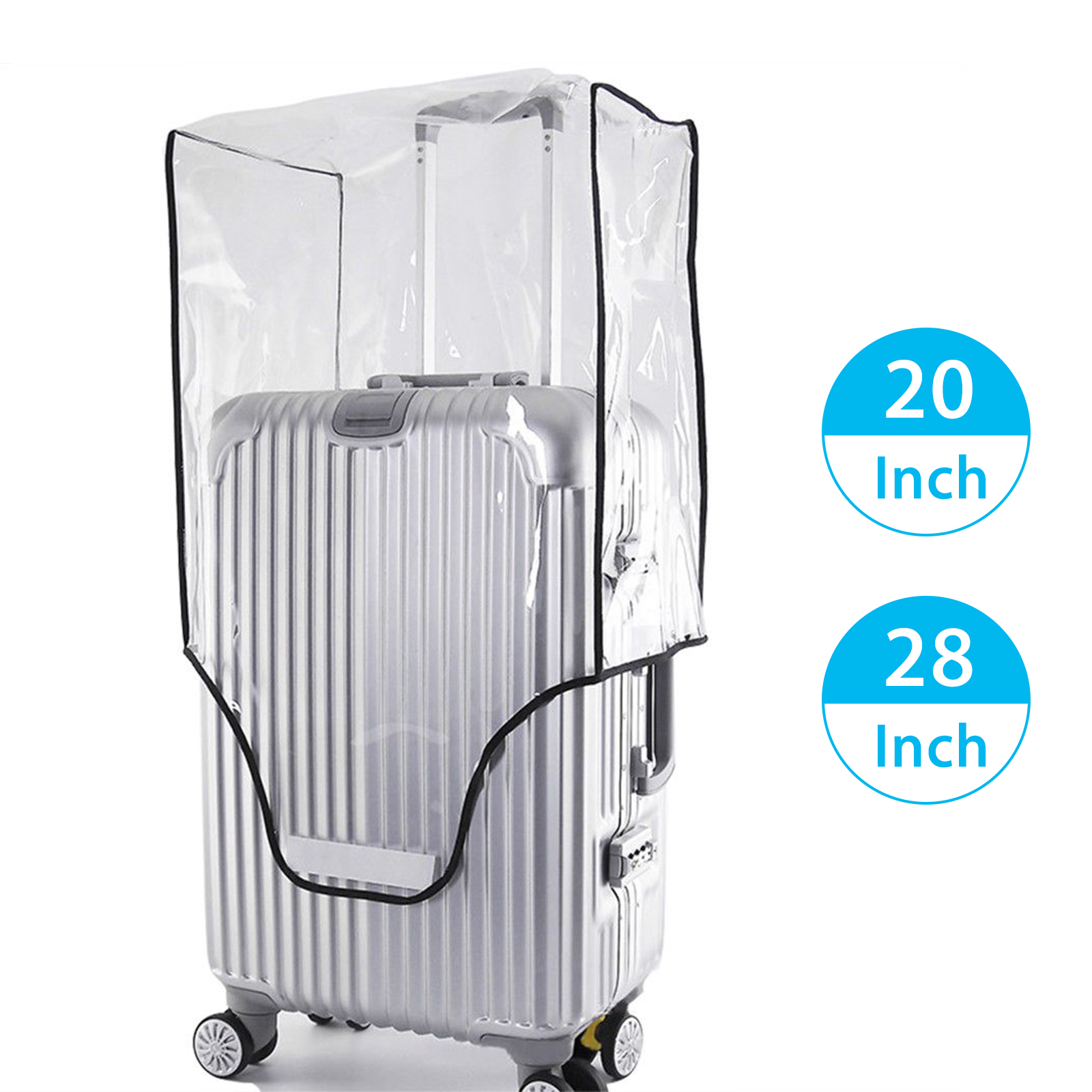 Waterproof-Transparent-Travel-Protective-Luggage-Suitcase-Cover-Protector-20-28-034 thumbnail 13