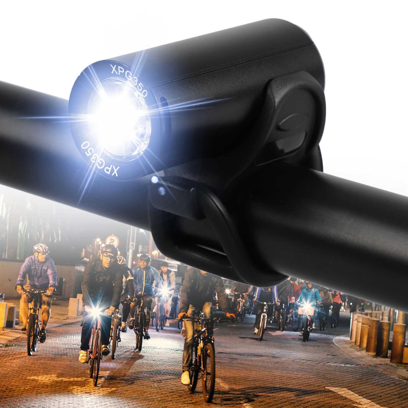 2400LM Cycling Bike Front Light Bicycle Head LED USB Recharg